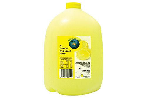 Lemon Fruit Juice Drink