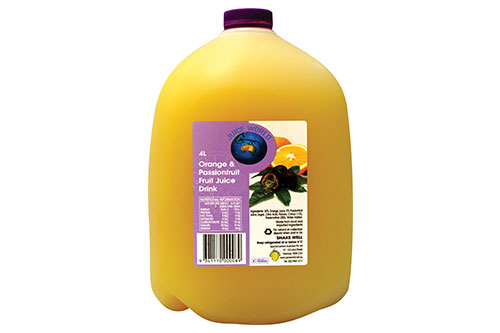Orange & Passionfruit Fruit Juice drink