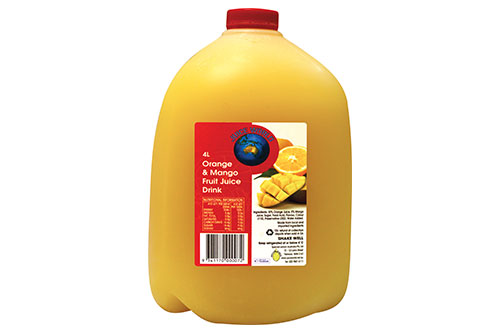 Orange & Mango Fruit Juice Drink
