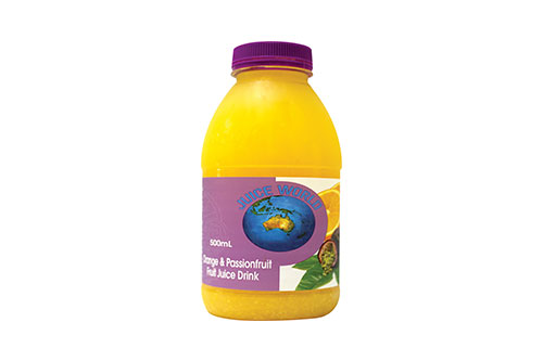 Orange & Passionfruit Drink